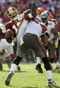 Mark Barron RG3 hit