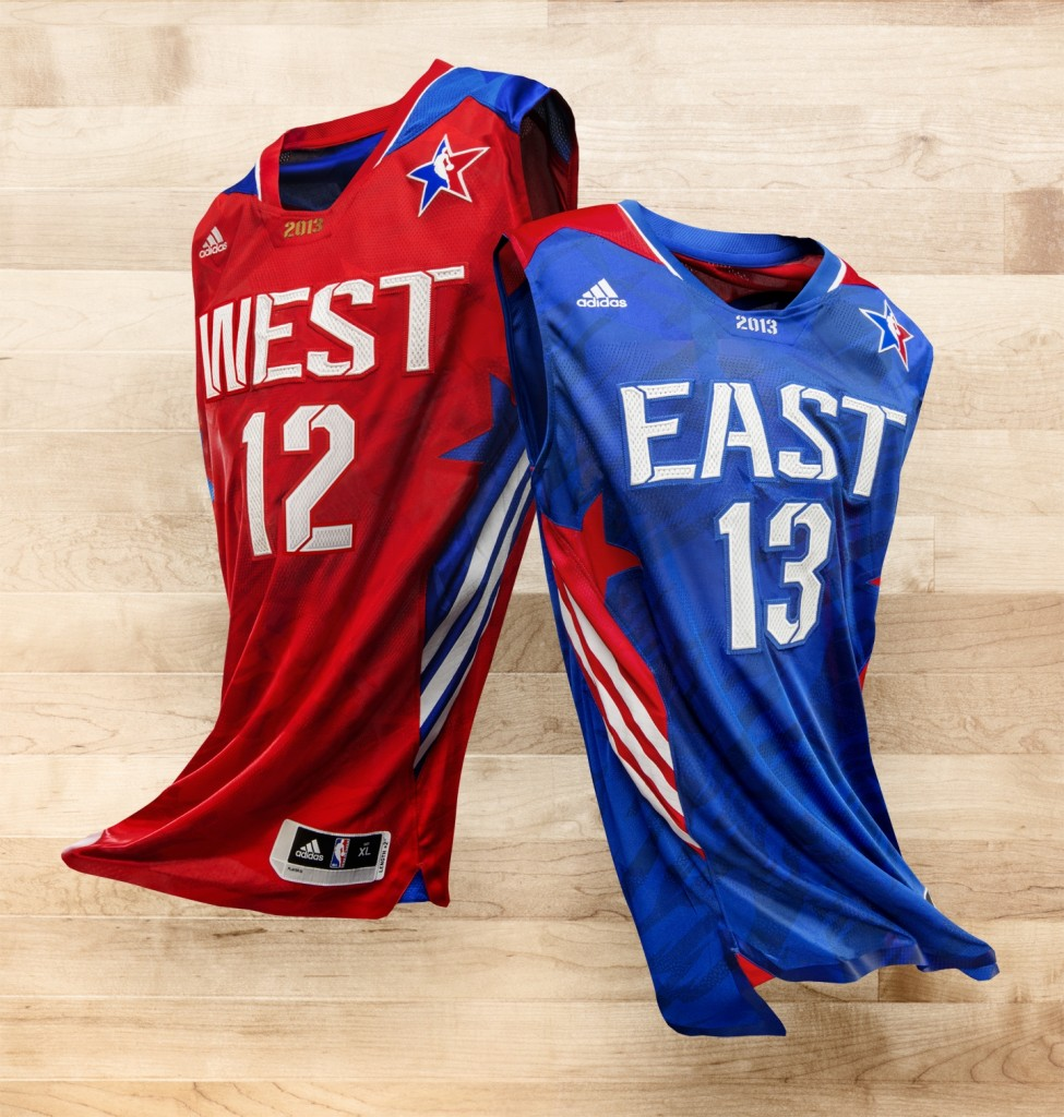adidas and the nba unveil 2013 nba all star uniforms