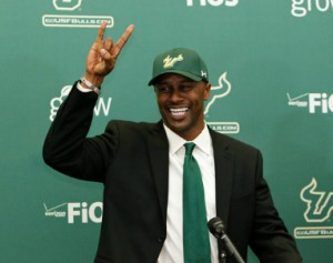 New hire, Willie Taggart, hopes to keep USF's streak against UCF alive