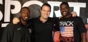 USA_Olympians Justin_Gatlin_Jeff_Demps_NFL_Track_2013