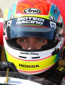 Justin Wilson ready for two IndyCar races in two days this weekend in Detroit. (Photo:IndyCar)
