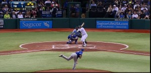 Evan Longoria Grand Slam: Screen Grab MLB.com