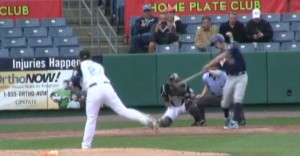 Wil Myers Launches Home Run: Screenshot from MiLB.TV