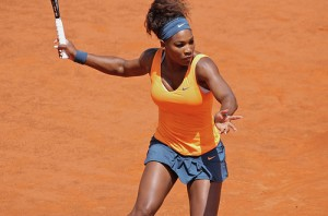 Serena Williams has not won the French Open in 11 years. However, she is the odds on favorite win the crown. (Photo - Marianne Bevis)