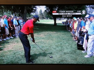 Tiger Woods is the man to beat at The Memorial. (Photo: CBS)