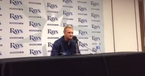 Alex Cobb Press Conference