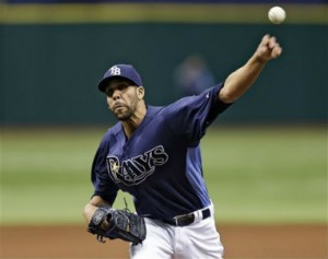 David Price Nearing Return: AP Photo
