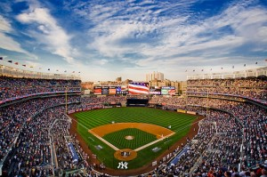 Yankee Stadium will host the Big Ten in the annual Pinstripe Bowl starting in 2014.