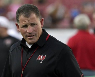 Bucs Night Practice Greg Schiano
