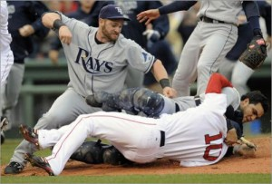 Rays and Red Sox take their fight to social media.