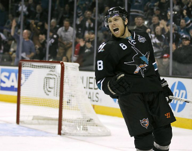 sharks sign joe pavelski to 5year extension sports talk