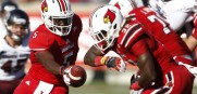 The Cards from Louisville set atop the AAC pre season football poll
