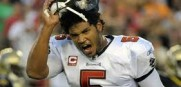 The Bucs success rests on the arm and legs of quarterback Josh Freeman.