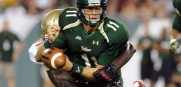USF quarterback Matt Floyd will have a second chance to make a positive impression on USF fans.