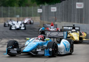 Simon Pagenaud has battled the big boys all season and he will again this week at Mid-Ohio