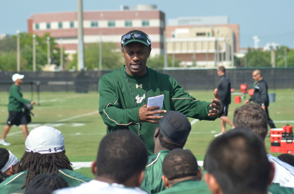 Willie Taggart will make his coaching debut with USF on August 31 against McNeese State.