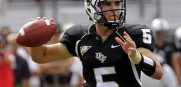 UCF Quarterback Blake Bortles is coming off of a 3,000-yard, 25-touchdown season.