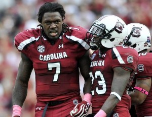 Clowney and the rest of the S.C. defense will try to strike fear into UCF's offense