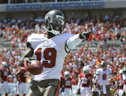 Tampa Bay Buccaneers WR Mike Williams Cardinals