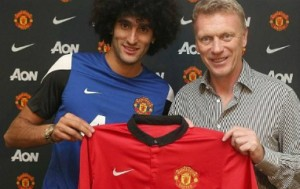 Marouane Fellaini could make his Man Utd debut