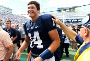 Christian Hackenberg will try to improve to 3-0 as Penn State's starter against UCF