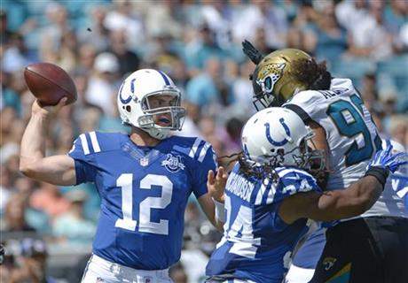 Luck Colts Jaguars