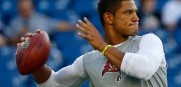 Tampa Bay Buccaneers QB Josh Freeman New England Patriots