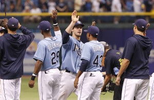 Rays look to keep wining as they enter the final week of the season.