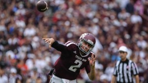 """Johnny Football,"" Was big time viewing for CBS on Saturday."