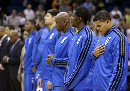 Tobias Harris, Andrew Nicholson, Al Harrington, Nikola Vucevic, Kyle O'Quinn and Maurice Harkless