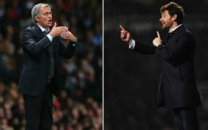 Andre Villas-Boas and Jose Mourinho have worked together on numerous occasions.