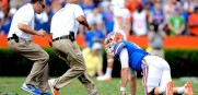 Florida quarterback Jeff Driskel suffered a season-ending injury last week against Tennessee.