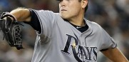 Matt Moore hopes to keep the Rays in the top slot in the AL Wild Card race.
