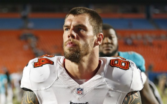 Tampa Bay Buccaneers tight end Tom Crabtree
