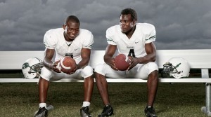 Miami Central teammates, Joseph Yearby and Dalvin Cook will be two of 115 high school players at the UM-UF game Saturday