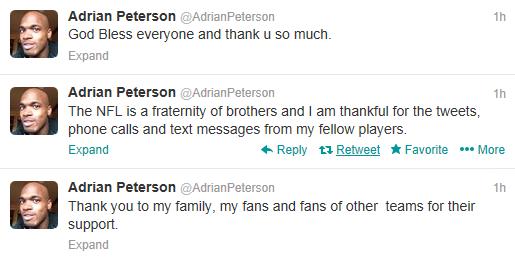 AdrianPetersonTweets