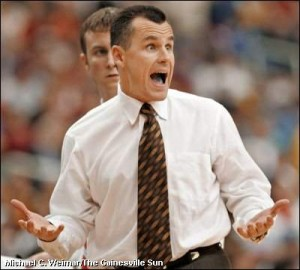 #10 ranked Florida could start the season with only 5 players. Coach Billy Donovan suspended three stars.