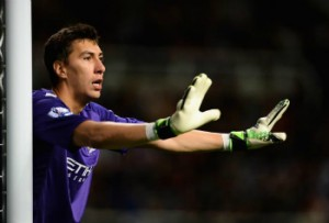 Costel Pantilimon could replace out-of-form Joe Hart in Man City's goal.