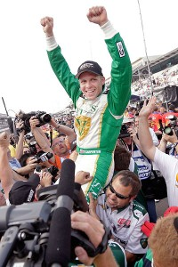 Ed Carpenter has had some bad luck lately but that should change in Houston.