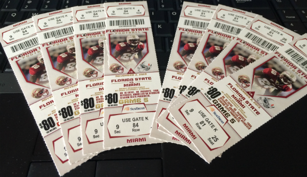 FSU Miami Tickets
