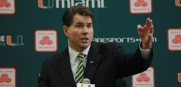 University of Miami Introduces New Head Football Coach Al Golden