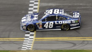 Jimmie Johnson is the Chase leader with only 4 races left.
