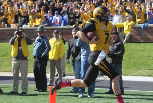 Mizzou freshman QB Maty Mauk led the Tigers over the Gators.