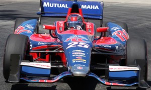 Marco Andretti is ready to roll in Houston this weekend.