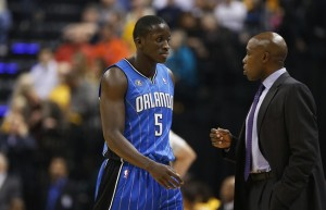 Magic head coach Jacque Vaughn knows this will be a ling year for his young team.