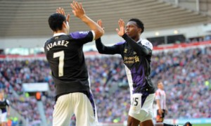 Luis Suarez and Daniel Sturridge: Best strike partnership in the BPL?