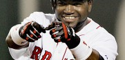 Big Papi will start at first tonight as Boston will be without a DH.