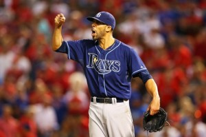 Rays David Price is money against the Red Sox.