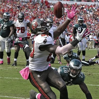 Tampa Bay Buccaneers tight end Tim Wright