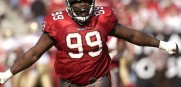 Bucs Ring of Honor Inductee Warren Sapp